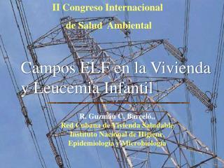 II Congreso Internacional  de Salud  Ambiental