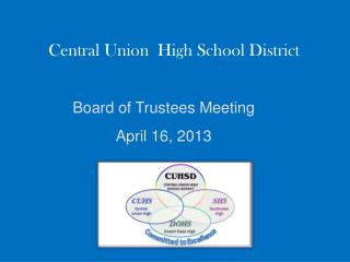 Central Union  High School District