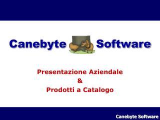 Canebyte        Software