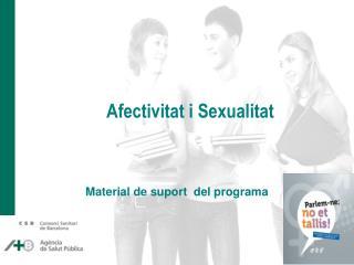 Material de suport  del programa