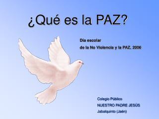 Colegio Público  NUESTRO PADRE JESÚS Jabalquinto (Jaén)