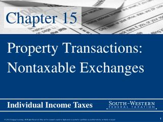 Property Transactions: Nontaxable Exchanges