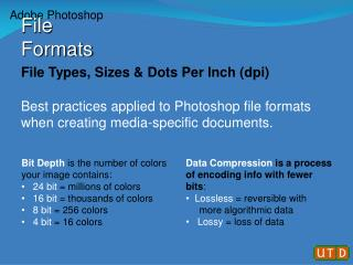 File Types, Sizes & Dots Per Inch (dpi)