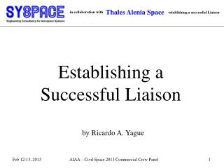 Establishing a Successful Liaison