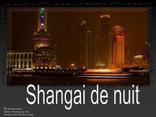 Shangai de nuit