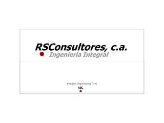RSConsultores, c.a.