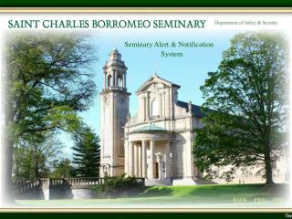 Seminary Alert & Notification                       System