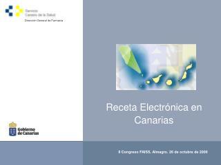 Receta Electrónica en Canarias