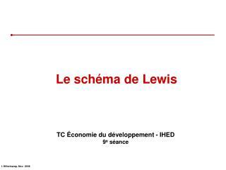 Le schéma de Lewis