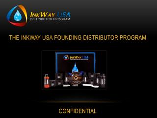 The  Inkway usa  founding distributor program