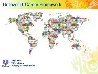 Unilever IT Career Framework