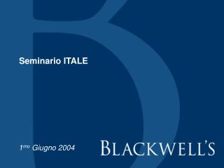 Seminario ITALE