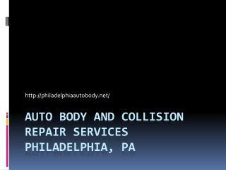 Collision Repair and Auto Detailing