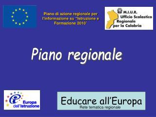 Educare all'Europa