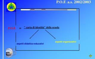 P.O.F. a.s. 2002/2003