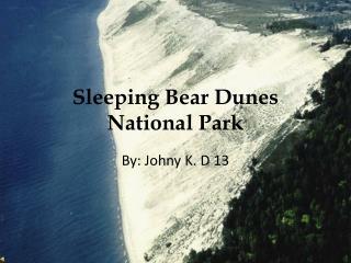 Sleeping Bear Dunes National Park