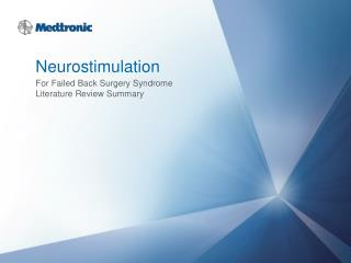 Neurostimulation