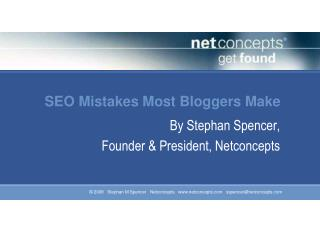 SEO Mistakes Most Bloggers Make