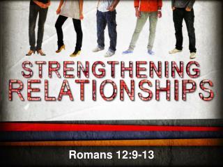 Romans 12:9-13