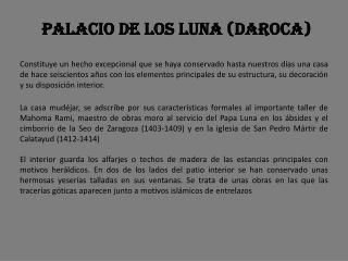 Palacio de los Luna (Daroca)
