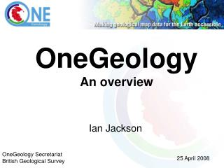 OneGeology An overview