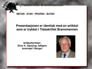 METAN - ETAN - PROPAN - BUTAN