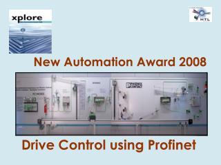 Drive Control using Profinet