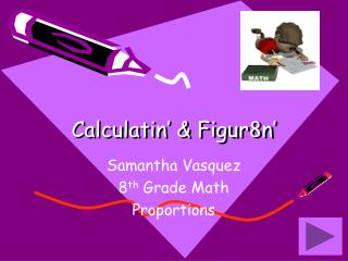Calculatin' & Figur 8 n'