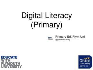 Digital Literacy (Primary)