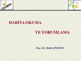 Do . Dr. Halit APAYDIN
