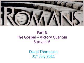 David Thompson 31 st  July 2011