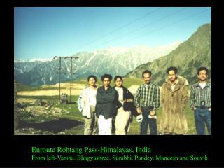 Enroute Rohtang Pass-Himalayas, India
