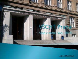 VŠCHT Praha