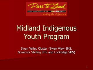 Midland Indigenous Youth Program