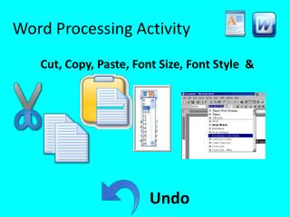 Word Processing Activity