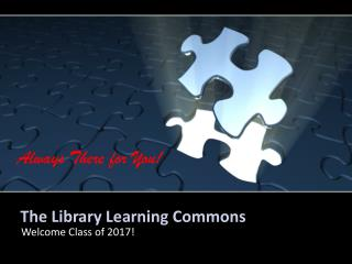 The Library Learning Commons