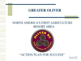 GREATER OLIVER