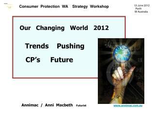 13 June 2012    Perth                         W Australia