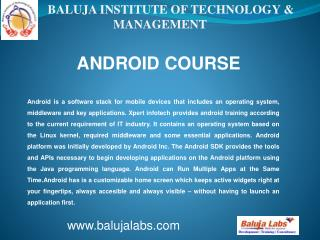 Android institute in Delhi, android institute in janakpuri