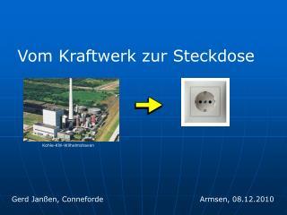 Vom Kraftwerk zur Steckdose