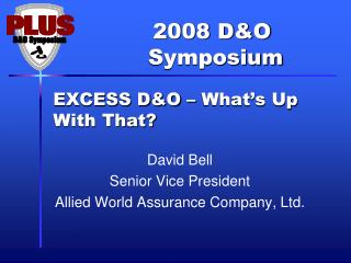 EXCESS D&O – What's Up With That?