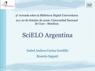 SciELO Argentina