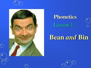 Lesson 1...