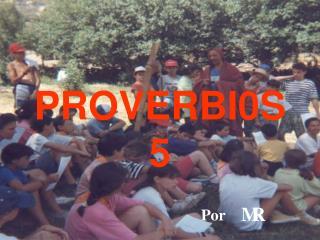 PROVERBI0S 5