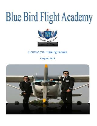Pilot Training - Blue Bird Flight Academy