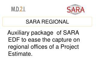 SARA REGIONAL