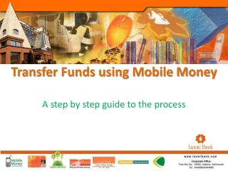 Transfer Funds using Mobile Money