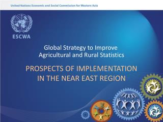 PROSPECTS OF IMPLEMENTATION IN THE NEAR EAST REGION