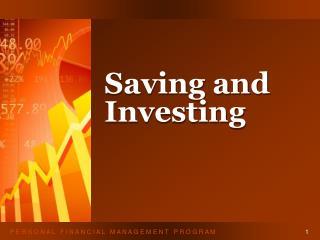 Saving and Investing