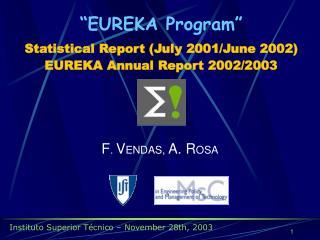 Instituto Superior Técnico – November 28th, 2003